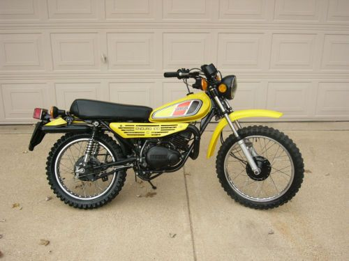 1977 Yamaha Dt100 My Very First Motorcycle Great Little Motor Lousy Little Frame Yamaha Dirtbikes Motorcycle