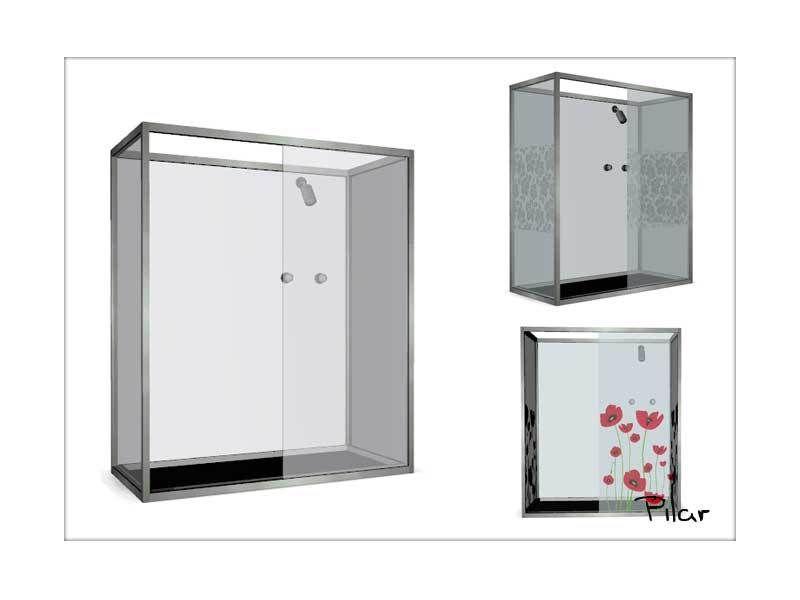 Photo of Tatsächliches Badezimmer mit einem Hauch von Farbe Gefunden in der TSR-Kategorie 'Sims 4 Showers & Tu …