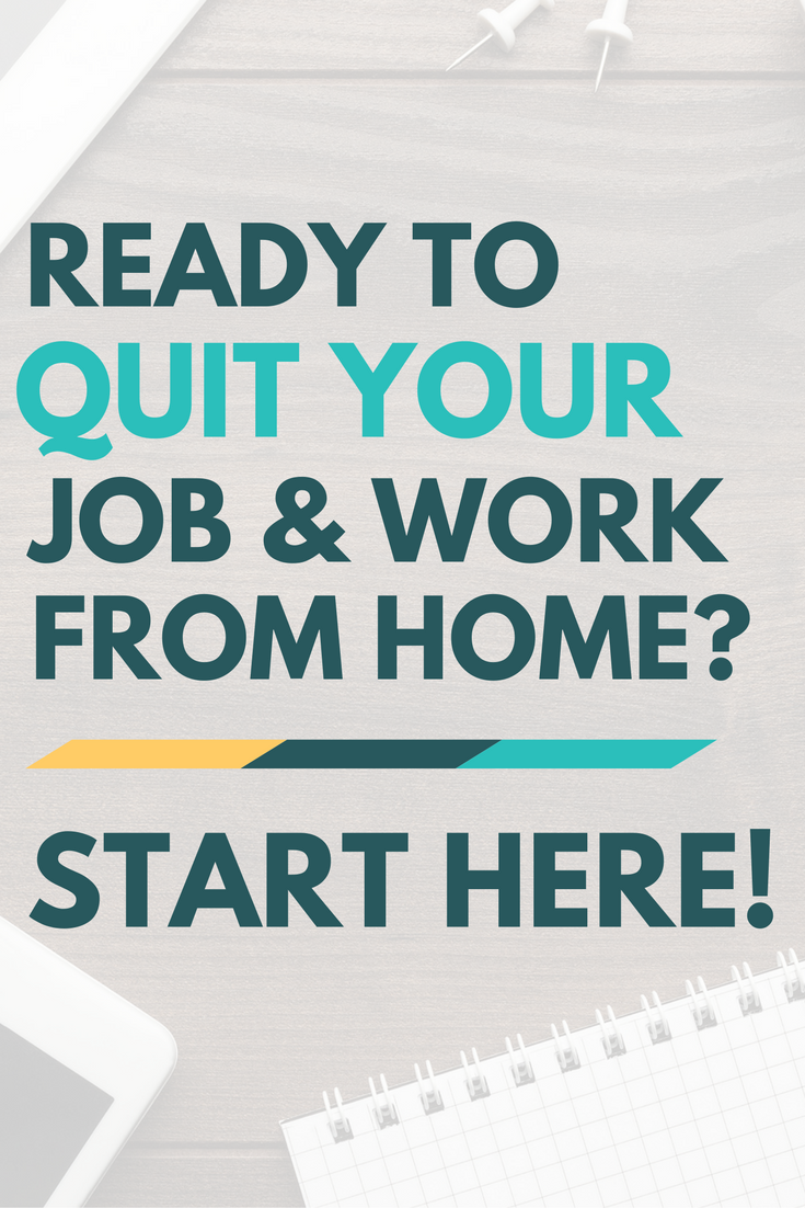 Quit Your Job to Work from Home. Start Here. | Opportunity, Business ...