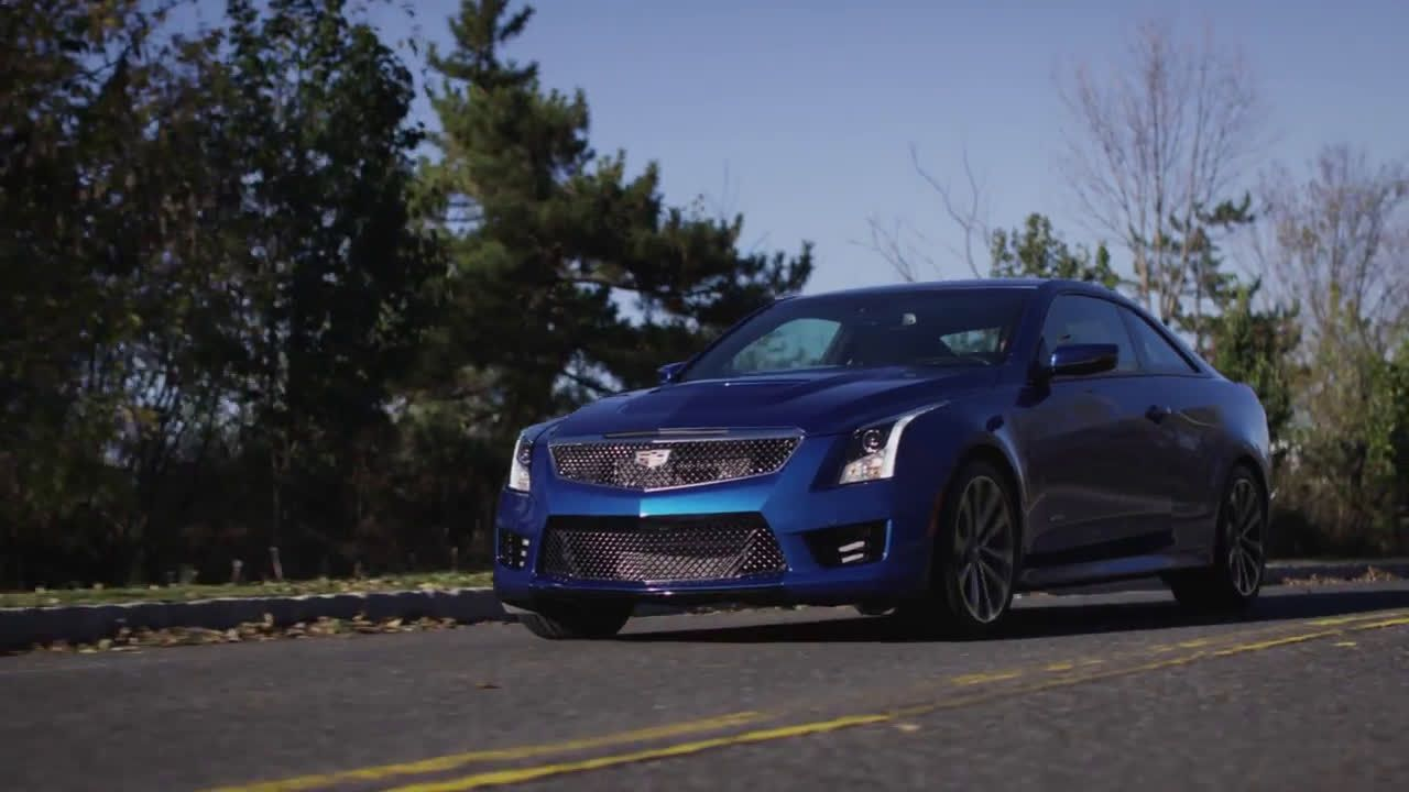 Cadillac 2017 Ats V Tv Commercial Ad Advert 2016 Cadillac Tv