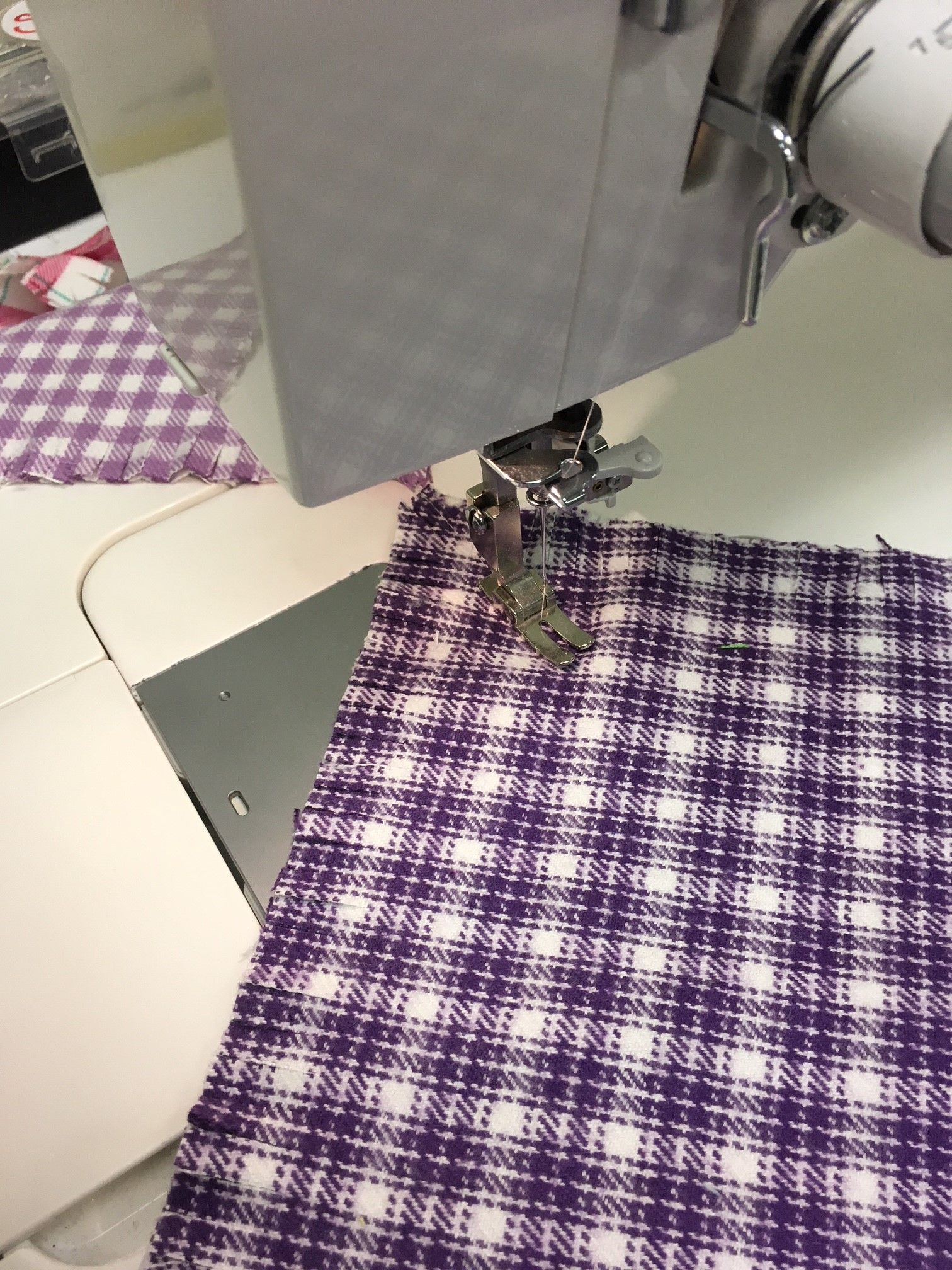Bundle Up With This Diy Rag Quilt Sizzix Blog The Start Of