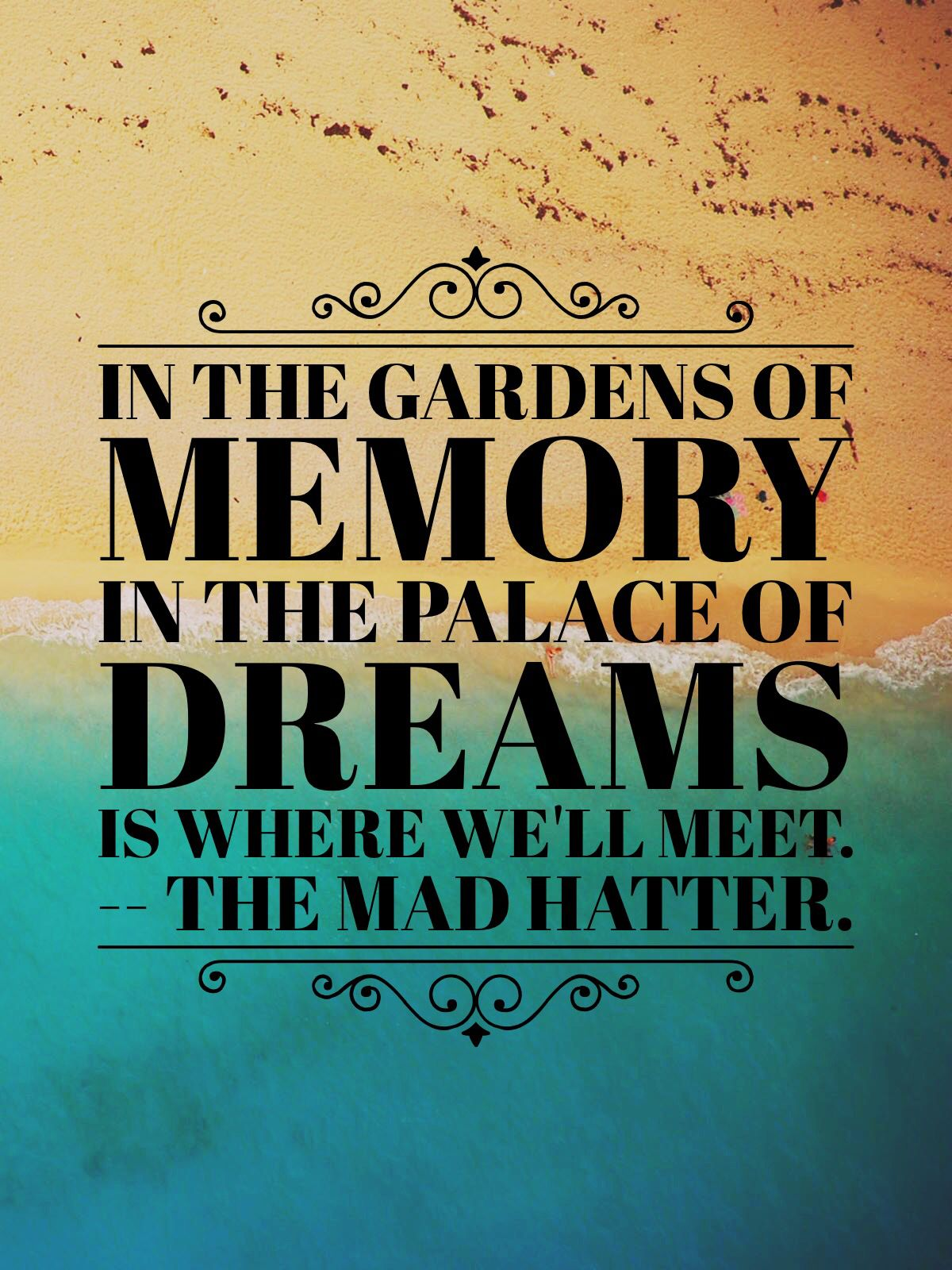 "Through The Looking Glass Quotes Custom From The Movie ""alice Through The Looking Glass""my Favorite Quote"