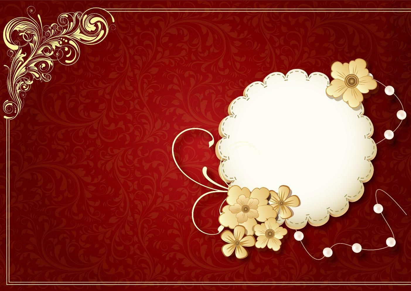 wedding invitation empty cards | Invitationjdi.co