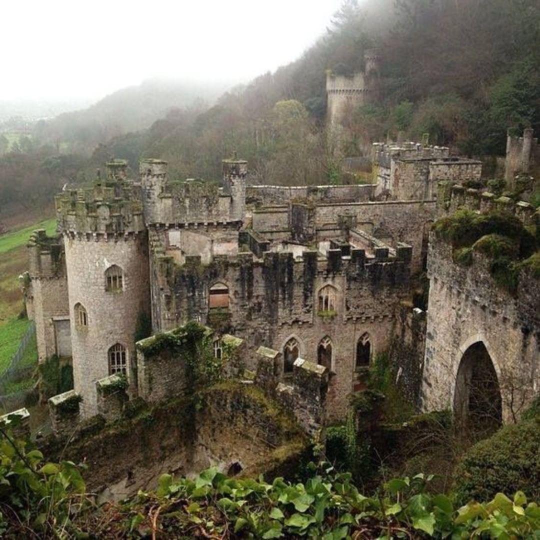 "Rebekah Legion On Instagram: ""Castell Gwrych"