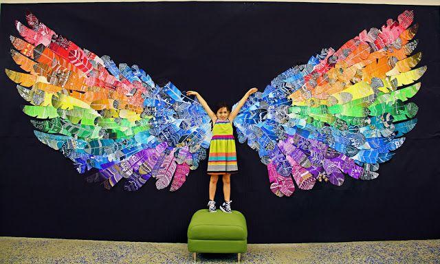 Angel Wings Art Project Elementary