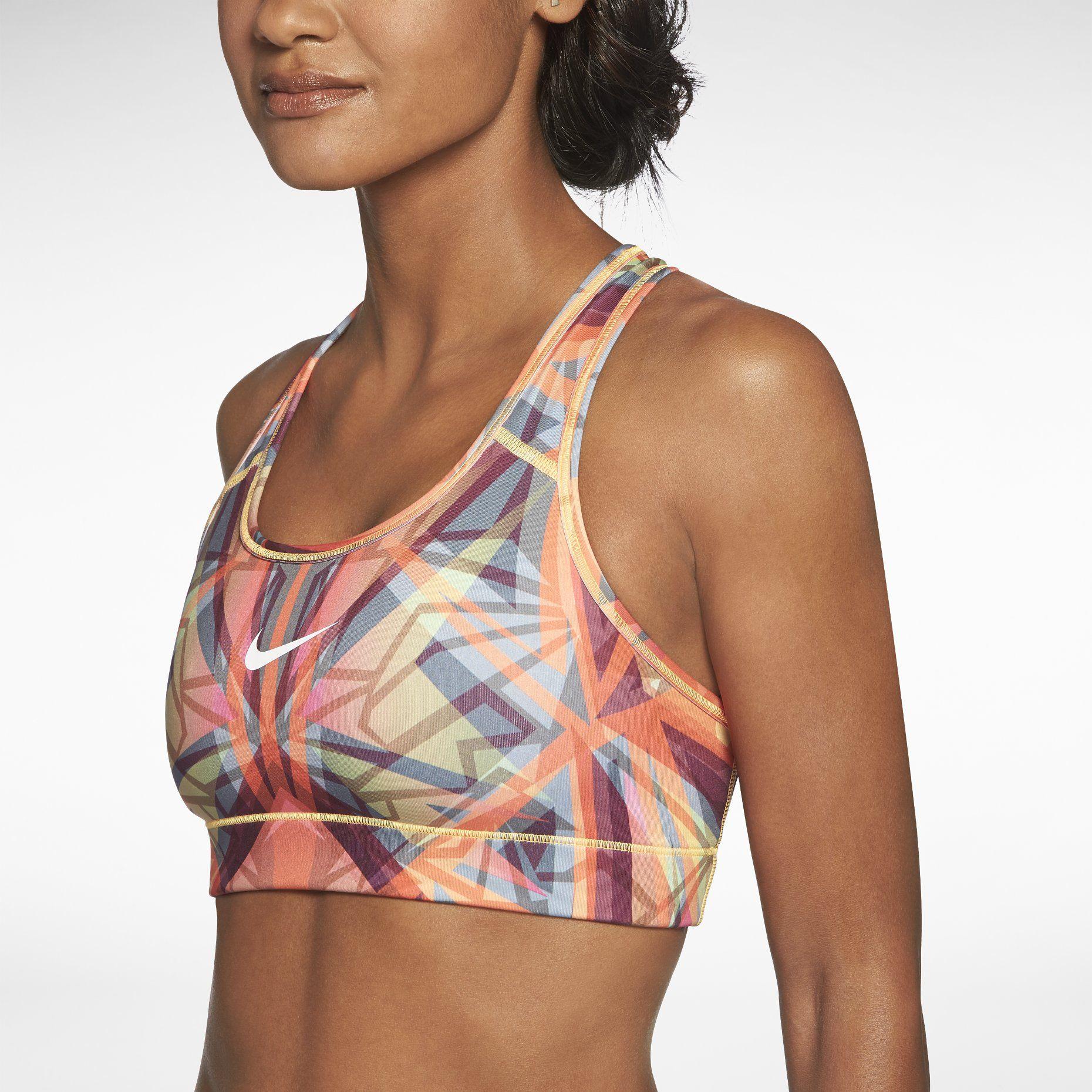 b0261dbb7f Nike Pro Hypercool Compression Kaleidoscope Women's Sports Bra ...