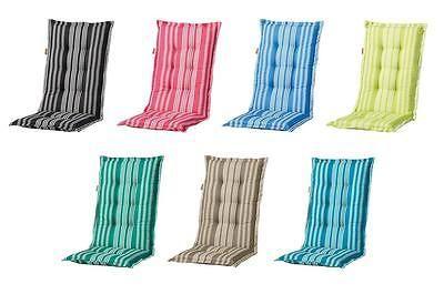 Madison Gartenmöbel Hochlehner Sessel Auflagen Polster Kissen 8 cm Gartenstuhl