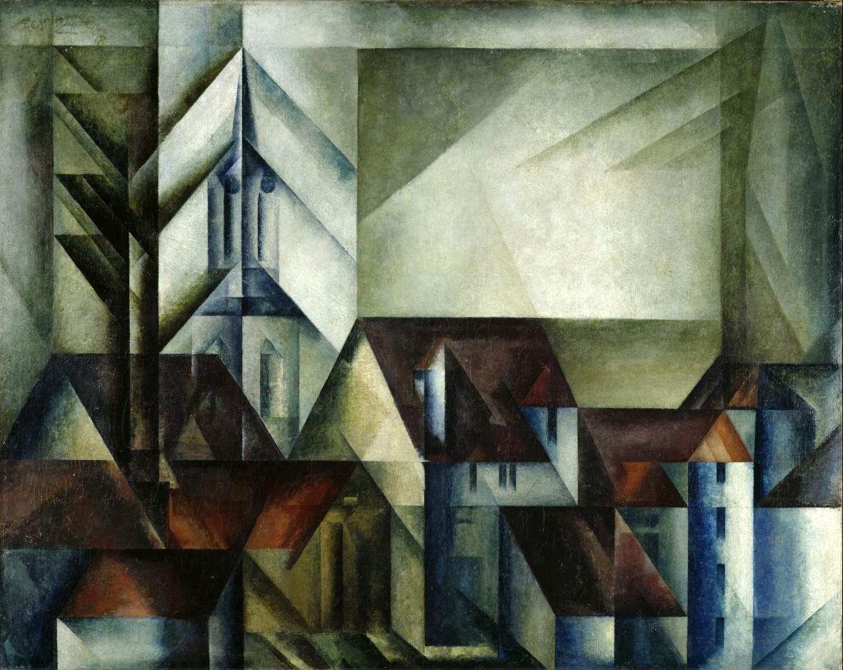 Lyonel Feininger Teltow Ii 1918 Kunst Ideen Entartete Kunst Moderne Kunst