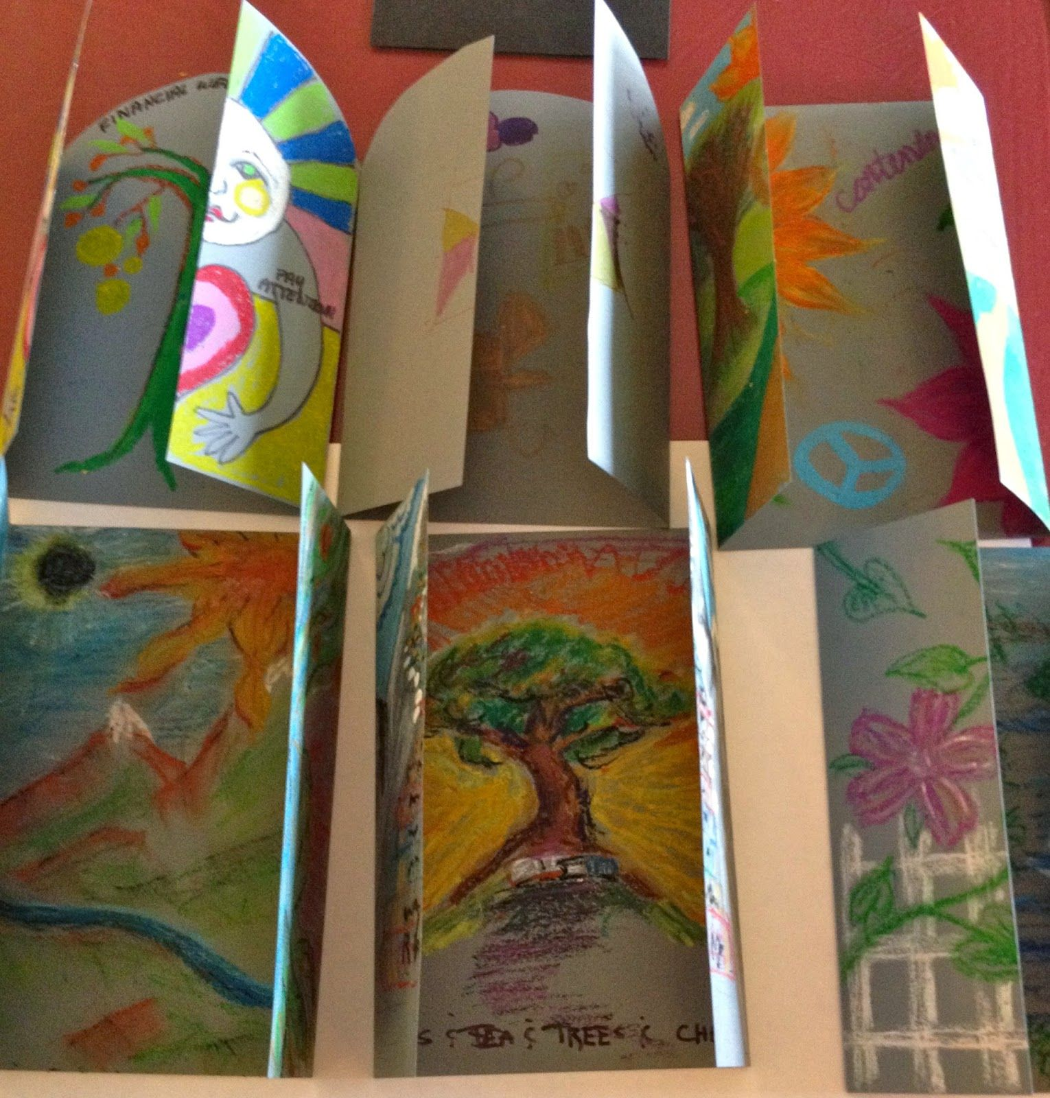 Art Therapy Project Gateway To What I Most Desire By Cynthia Emerlye Vermont Artist And Kirig