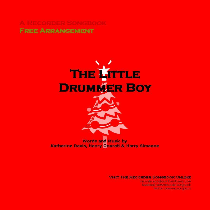 Free sheet music : Davis, Katherine - The Little Drummer Boy