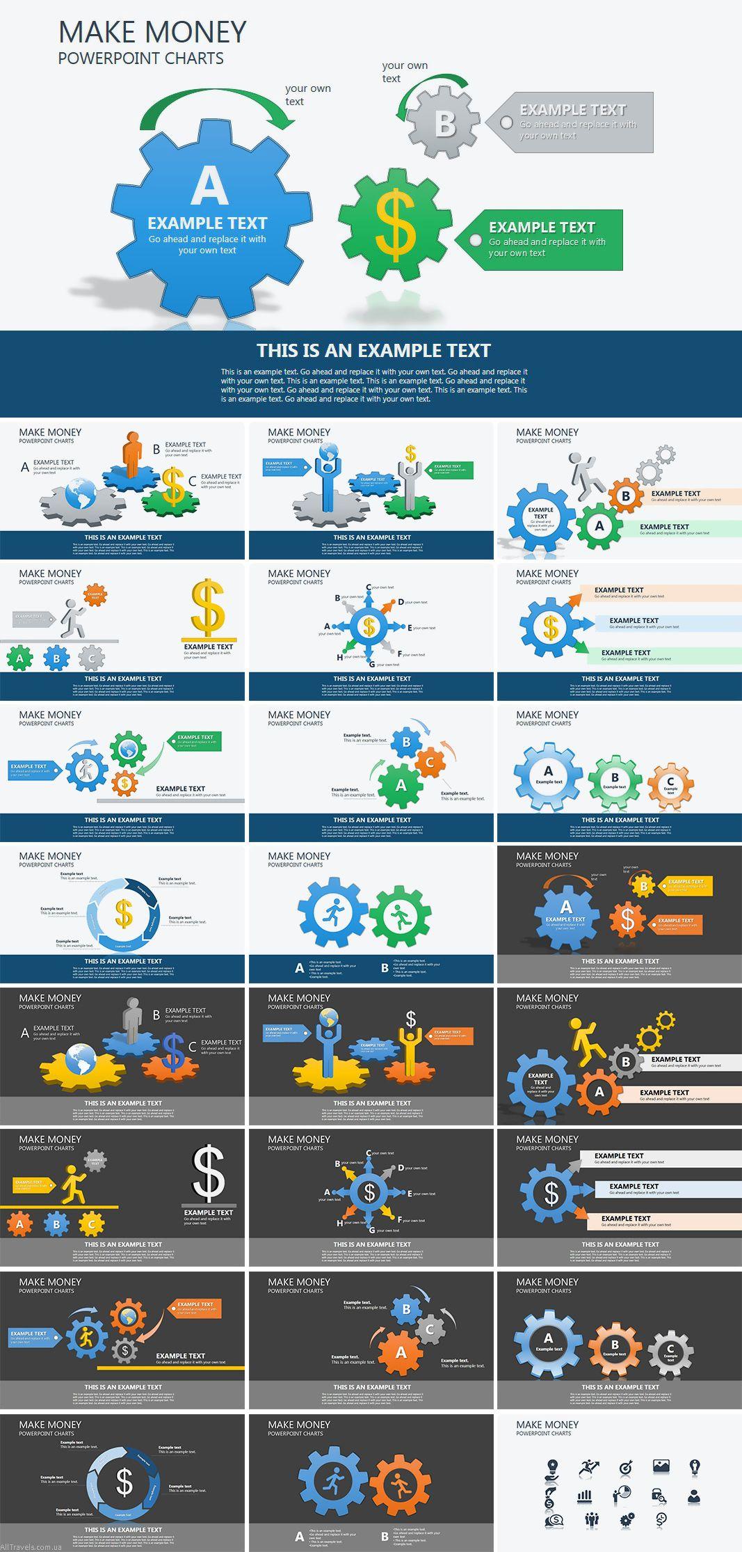 Company Organization PowerPoint charts