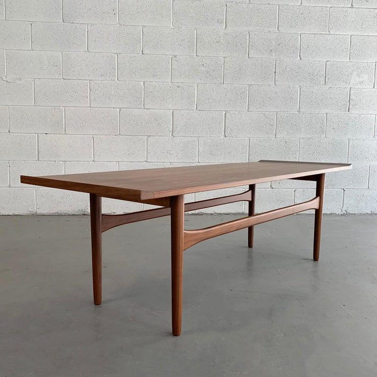 Danish Modern Teak Coffee Table Teak Coffee Table Danish Modern Coffee Table Modern Square Coffee Table