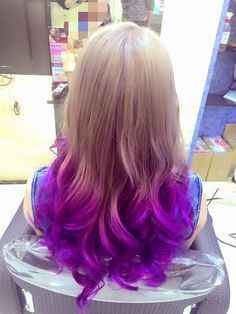 Image result for blonde hair with blue and purple tips angled hair image result for blonde hair with blue and purple tips angled hair solutioingenieria Gallery