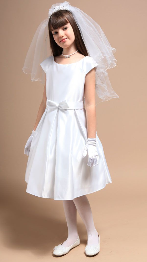 Little Short Communion Dress First Communion Dresses