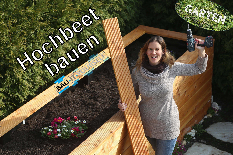 hochbeet selber bauen garten anlegen diy holz hochbeet anleitung v garden pinterest. Black Bedroom Furniture Sets. Home Design Ideas