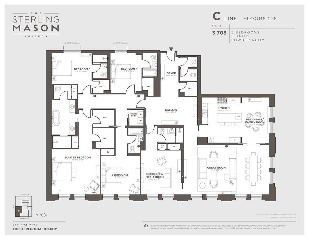 71 laight st 2c condo apartment sale at the sterling mason in