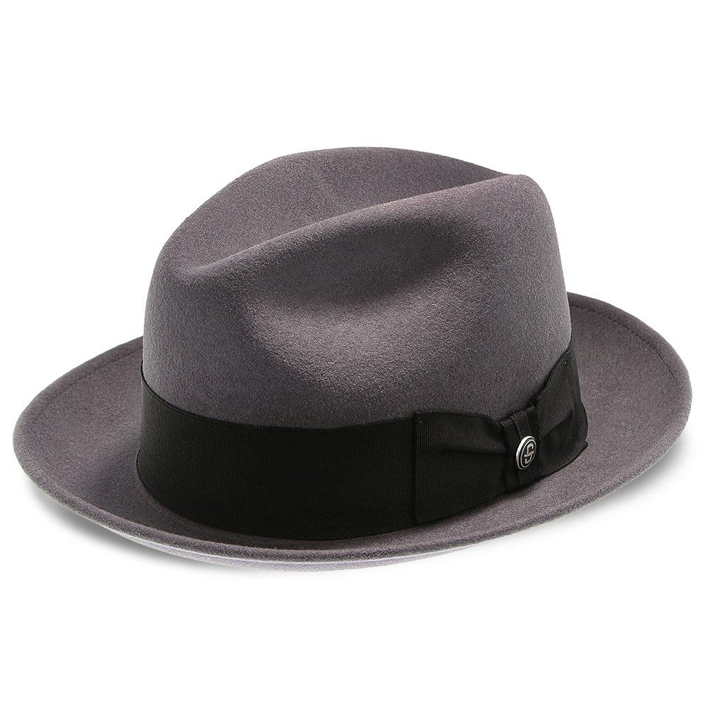 2177a77d22102 Stetson Frederick Wool Felt Fedora Hat - TWFRDK in 2019