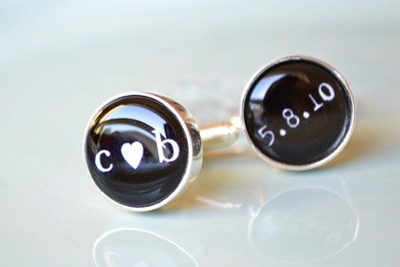 custom cufflinks :) would make a great groom's gift