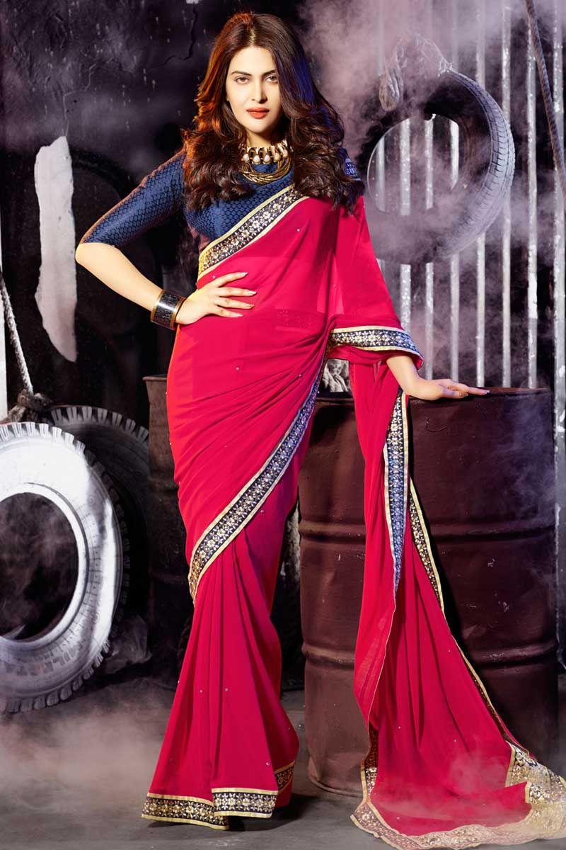Femme Saree Chemise Designer Vêtements Pour Indian Chemisiers HD29IeWEY