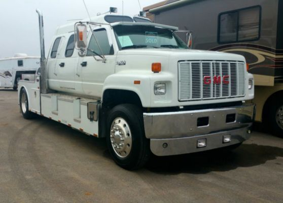 Gmc Topkick Custom Hauler For Sale Gmc Trucks Classic Cars