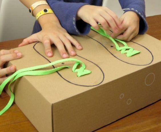 Photo of Leyes infantiles sin igual: aprenda a atar cordones de los zapatos