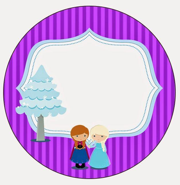Frozen Niñas en Navidad: Etiquetas Candy Bar para Imprimir Gratis ...