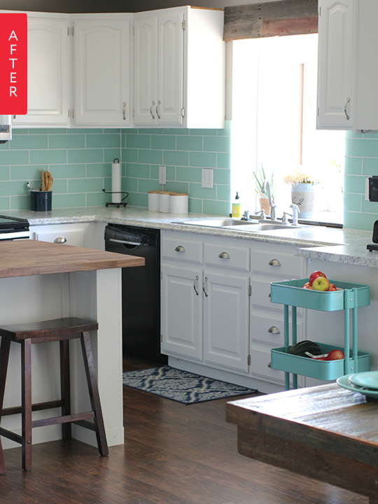 Before & After On A Budget: 10 Wallet-Friendly Kitchen