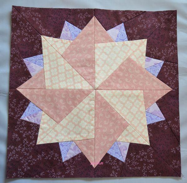 Patrones para bloques patchwork buscar con google - Patrones colchas patchwork ...