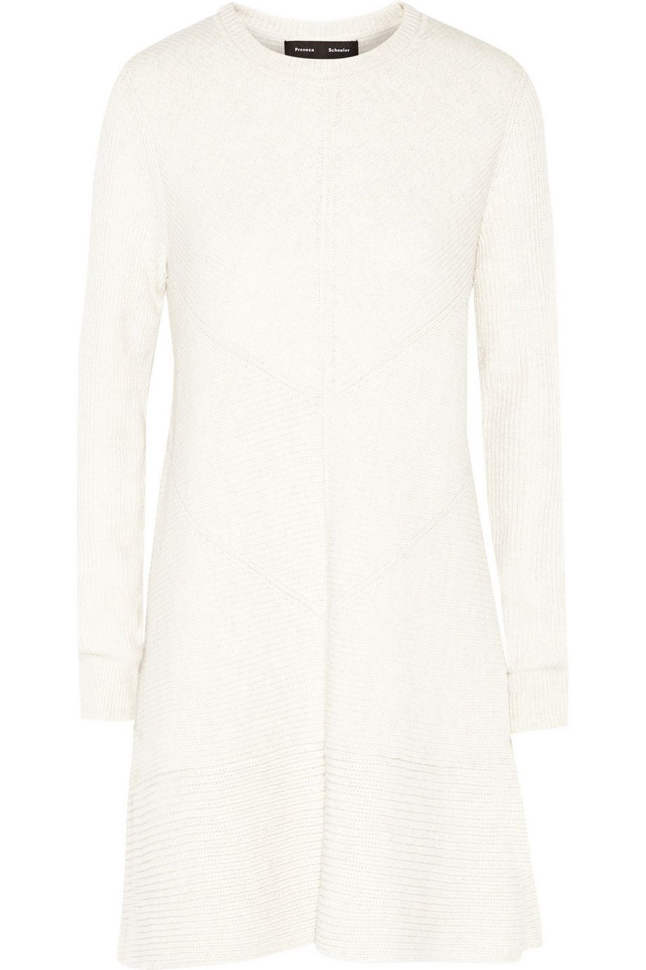 Proenza Schouler | Ribbed wool and cashmere-blend dress | NET-A-PORTER.COM