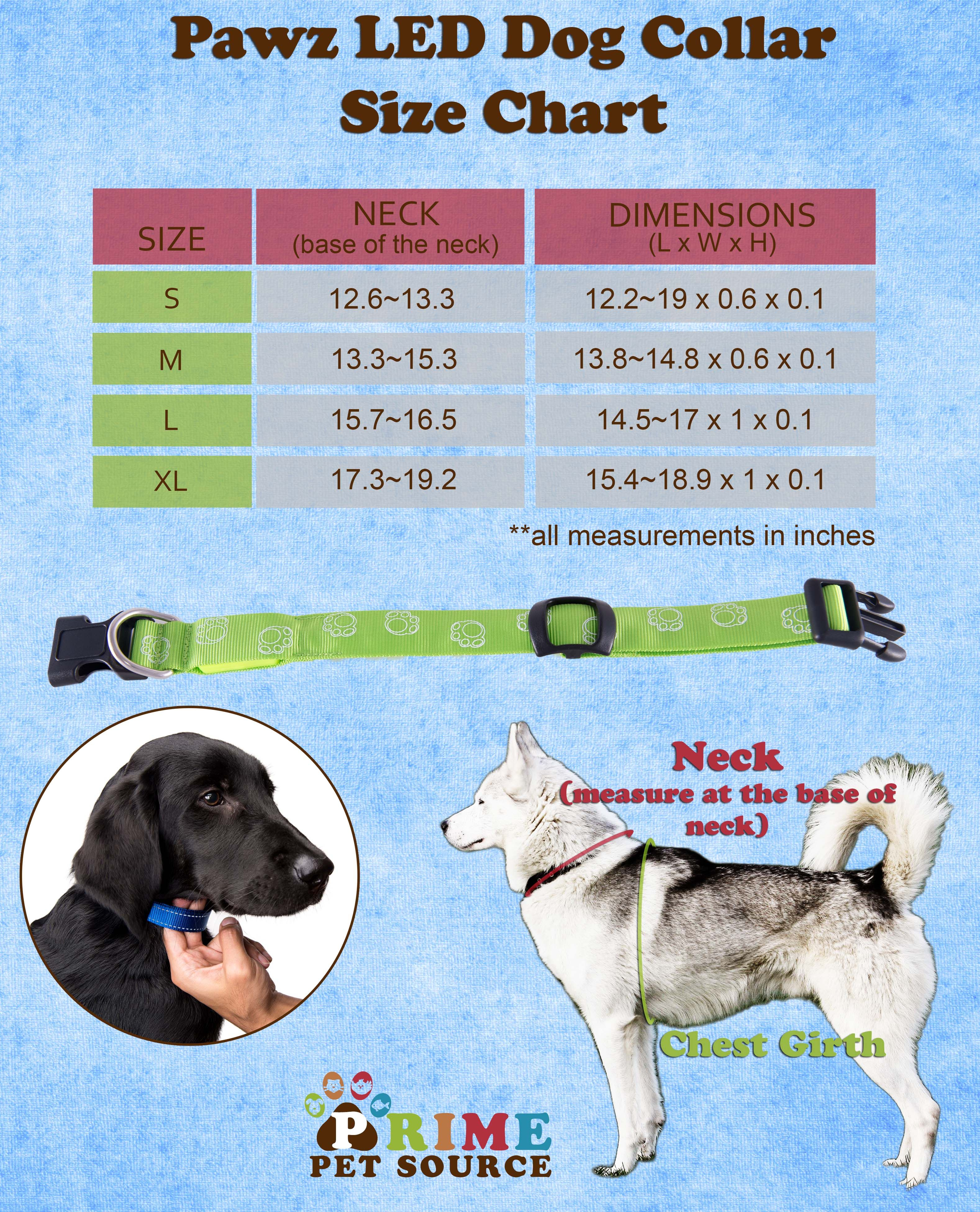 Don't let the dark stop your pup from shinning! Pick up a fun, LED light up collar from Prime Pet Source! http://www.amazon.com/Nighttime-Visibility-Prime-Pet-Source/dp/B00KMCMCPC