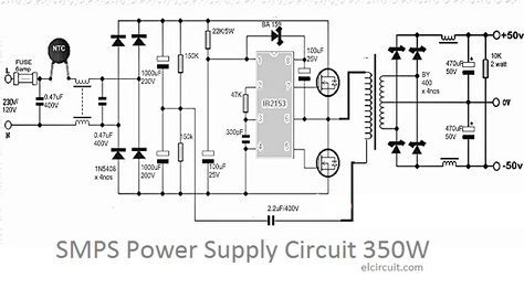 350w smps power supply circuit smps pinterest power supply rh pinterest com