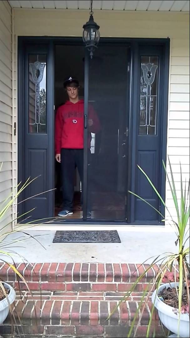 Delightful ClearView Retractable Screens For Your Front Door. Donu0027t Cover Up Your  Beautiful Door With An Unsightly Screen. Add A Retractable Screen That  Hides Away ...