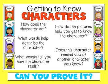 Character Feelings Mega Poster Pack for Kindergarten and First ...