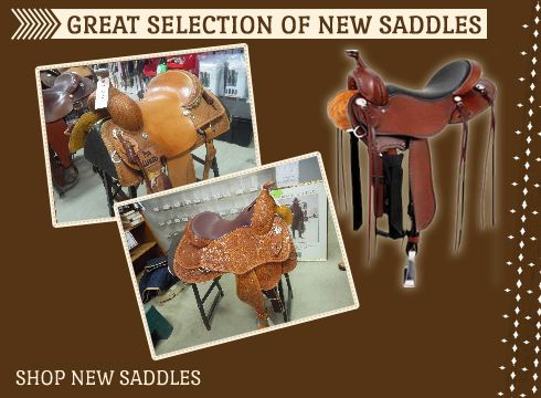 New and Used Quality Western Saddles and Horse Tack | Saddle