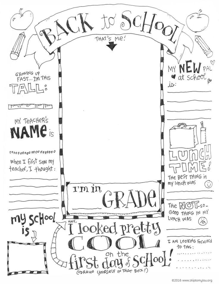 back to school coloring pages free printable | FREE Printable Back to School Coloring Page | Back to ...