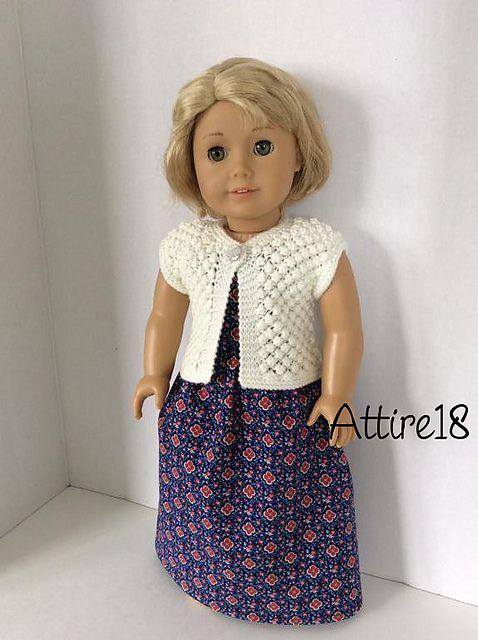 Knitting Patterns Galore - Raspberry Shrug pattern free | AMER GIRL ...