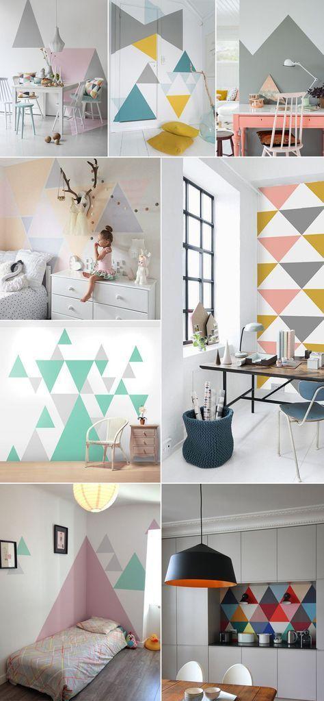 dà coration inspiration scandinave vintage retro geometrique