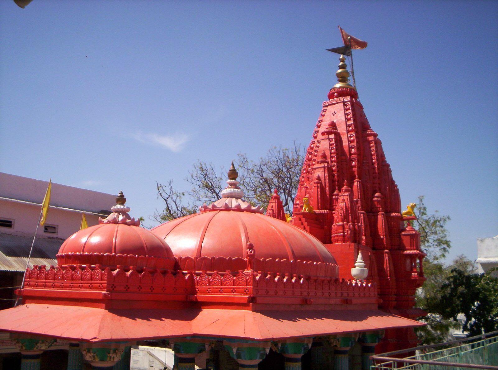 Brahma temple in Pushkar