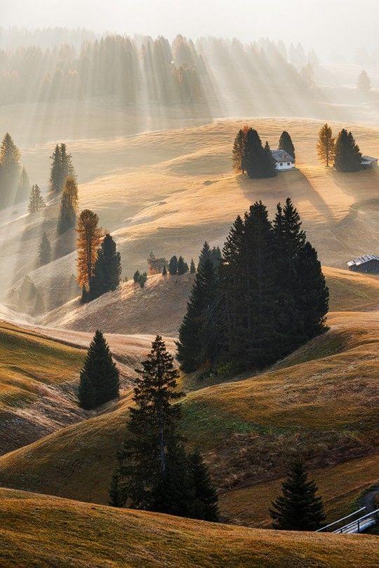 wonderous-world: The Dolomites, Italy by Martin Rak. WOW......what a photo❤