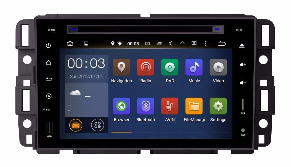 Ram 2gb Hd Android 7 1 Fit Buick Enclave Gmc Yukon Chevy Chevrolet Suburban Car Dvd Player Multimedia Navigation Gps Car Dvd Players Car Audio Honda Civic 2016