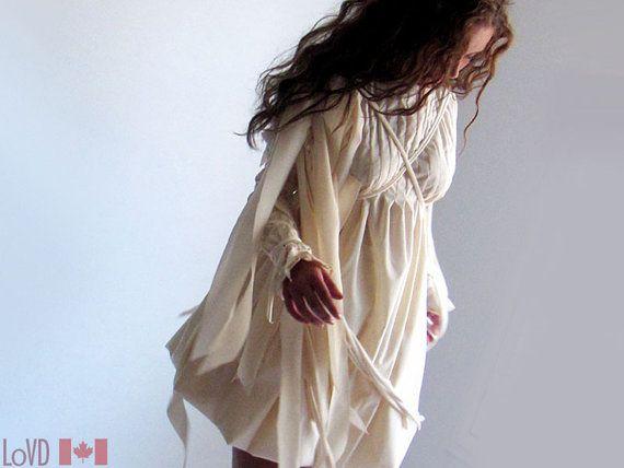 Wedding Fairy Dress Angel Wedding Gown Shakespeare by LoVDdesign