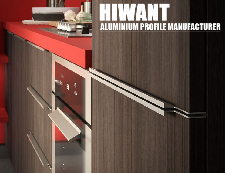 China Top 10 Manufacturer Kitchen Cabinet Aluminium Profile For