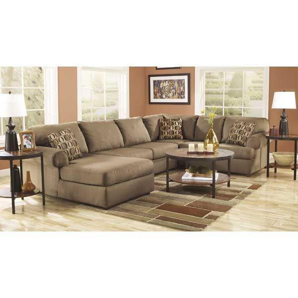 American Furniture Living Room Sectionals Ikea Wall Units Warehouse Virtual Store 16 34 67 E1 307lc 3pc Mocha Sectional W Laf Cha Ashley