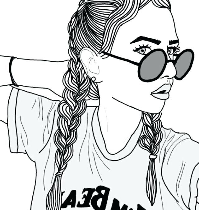Draw Coloring Page Tumblr Trendy Drawing Inspiration