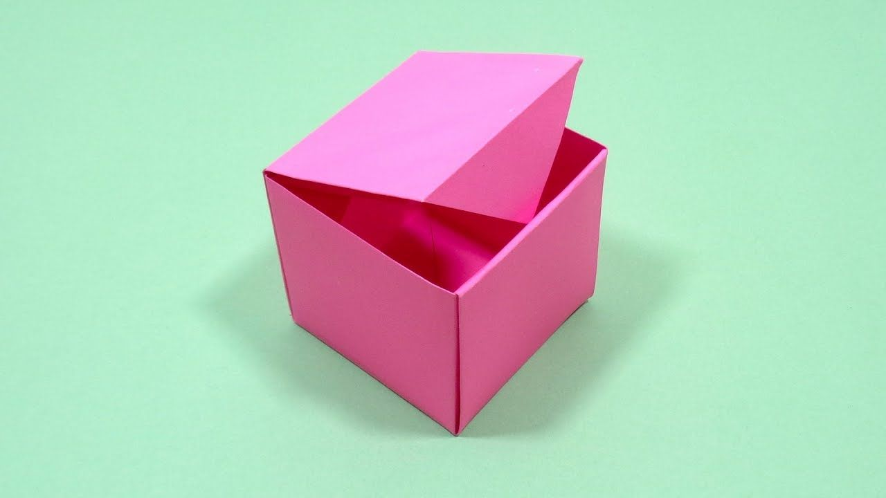 Paper Crafts: Candy Gift Box | 720x1280
