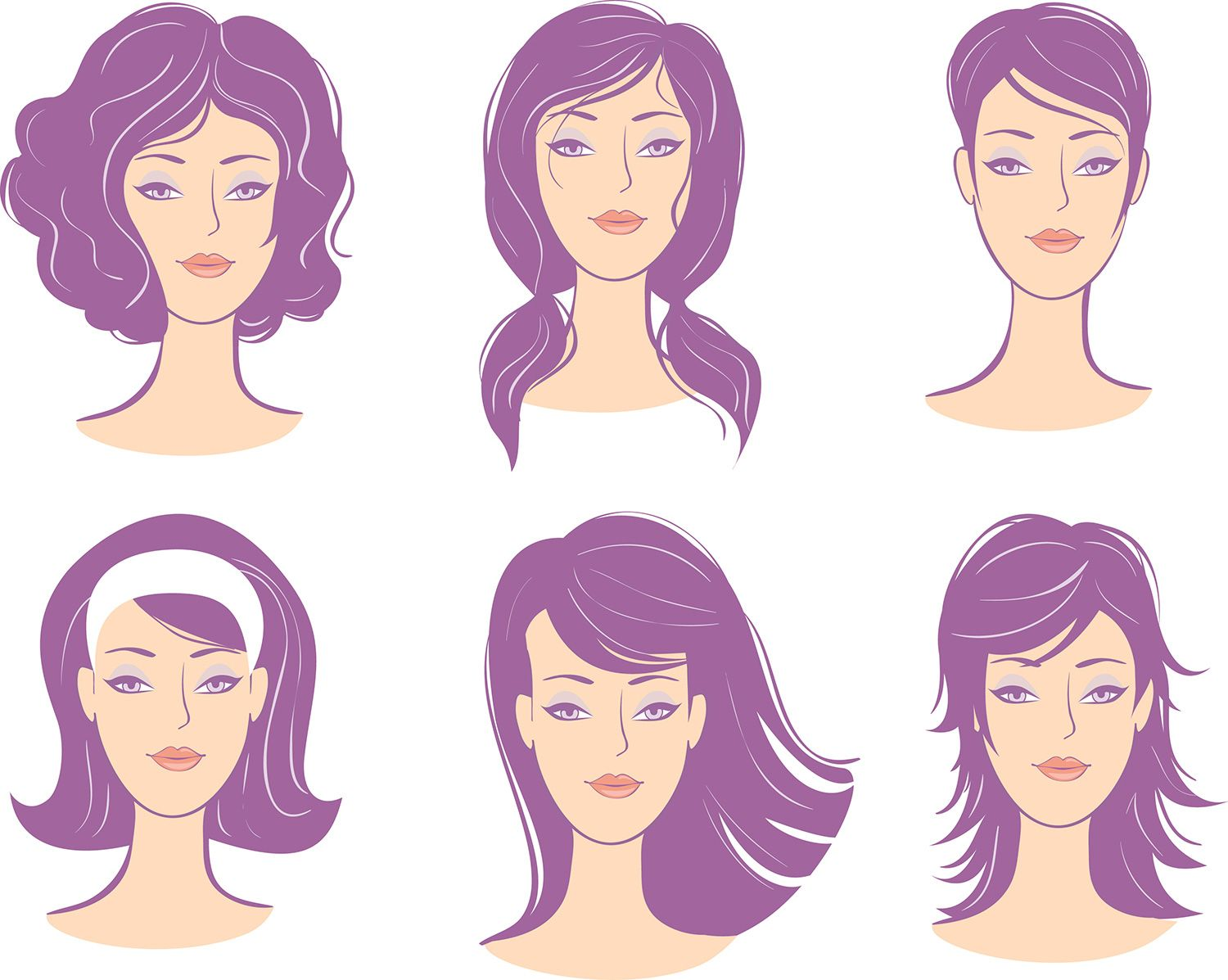 hairstyles-for-oval-face-shape.jpg (1500×1197) | Style: face ...