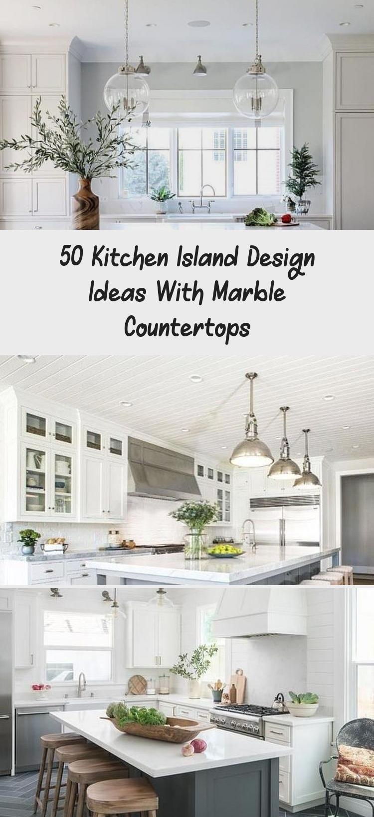 9 Kücheninsel Design Ideen mit Marmor Arbeitsplatten   HAUS ...
