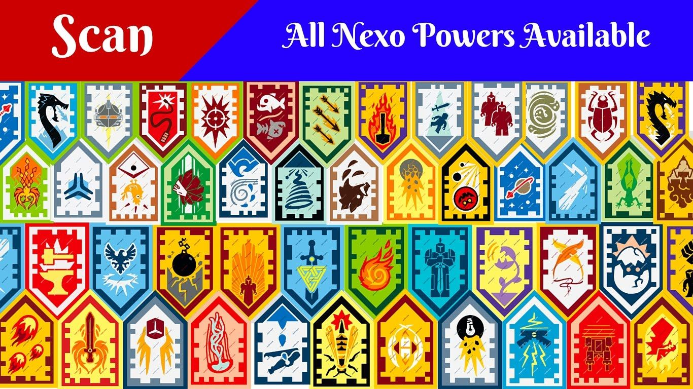 All Lego Nexo Powers Nexo Shield Scan And Enjoy Youtube Lego