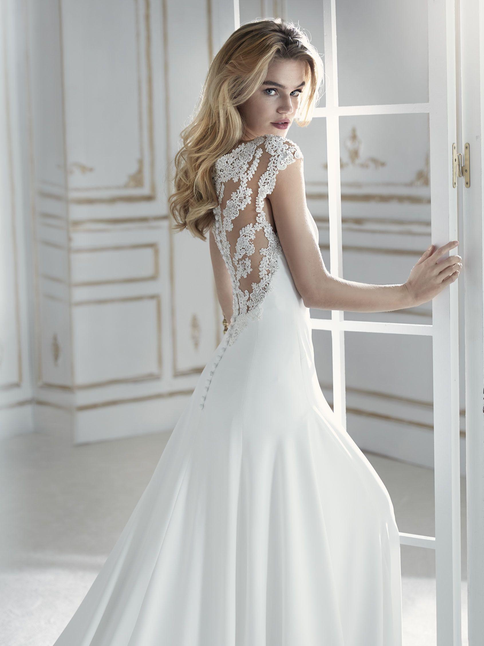 Trouwjurk Strak.La Sposa Wedding Dress Trouwjurk Bruidsjurk Taft Tule