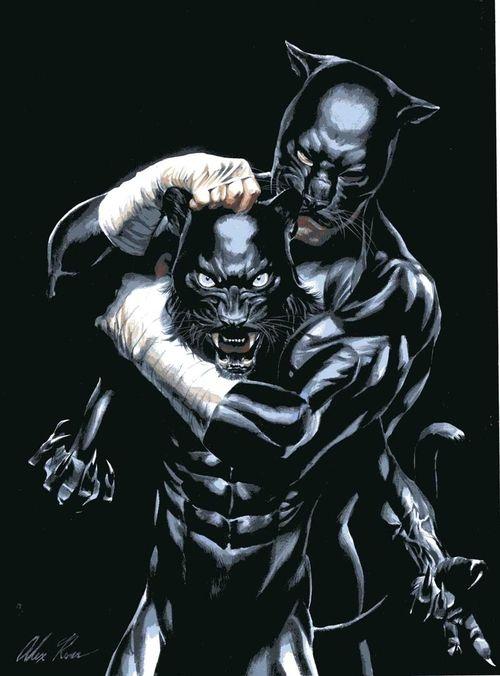 Wildcat & son by Alex Ross!